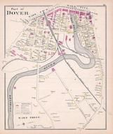 Dover - Wards 2 3, New Hampshire State Atlas 1892 Uncolored